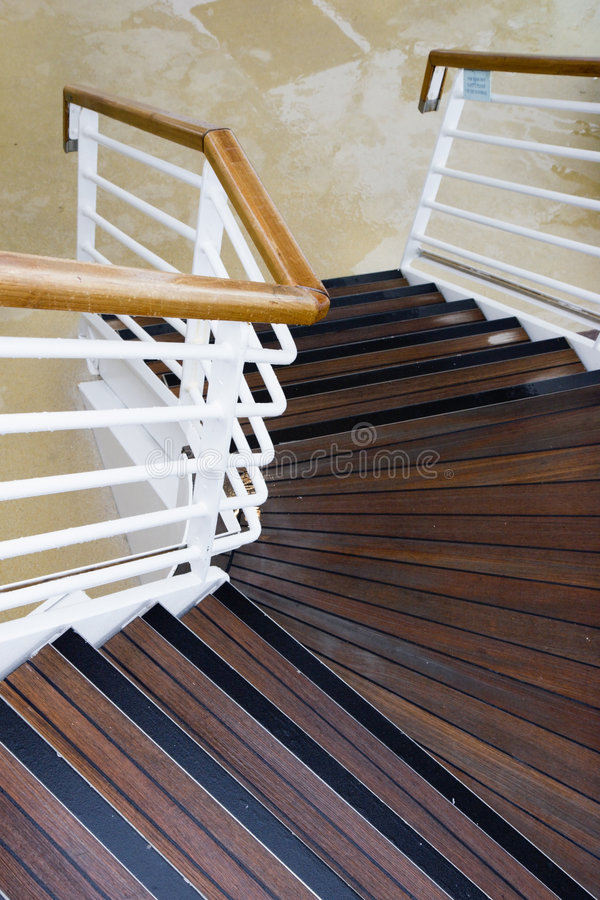 Download Stairs stock photo. Image of stairwell, tread, rain, boat - 5771882