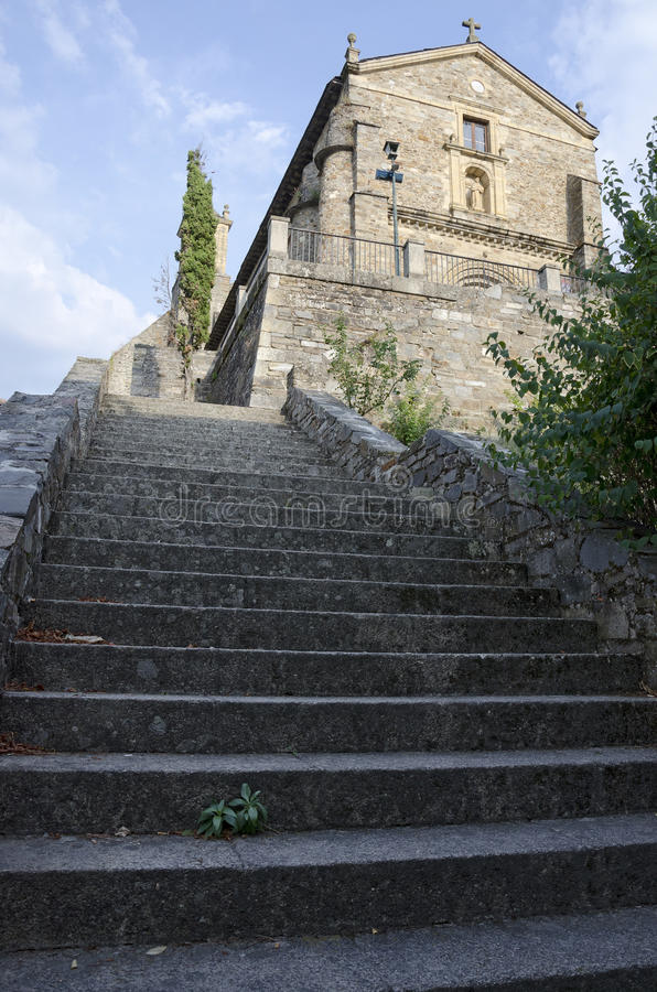Download Stairs Of Church Of San Francisco Stock Image - Image: 26587369