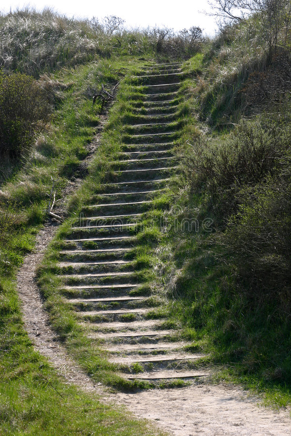 Download Stairs in the dunes stock image. Image of climbing, dune - 125183