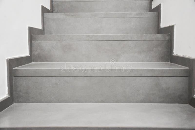 Stairs gray stock photo