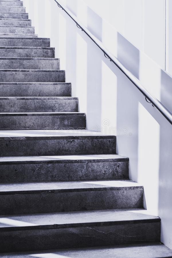 Stairs Grayscale Photography stock photos