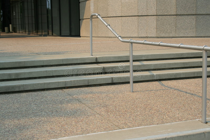Stairs and Handrails royalty free stock photo