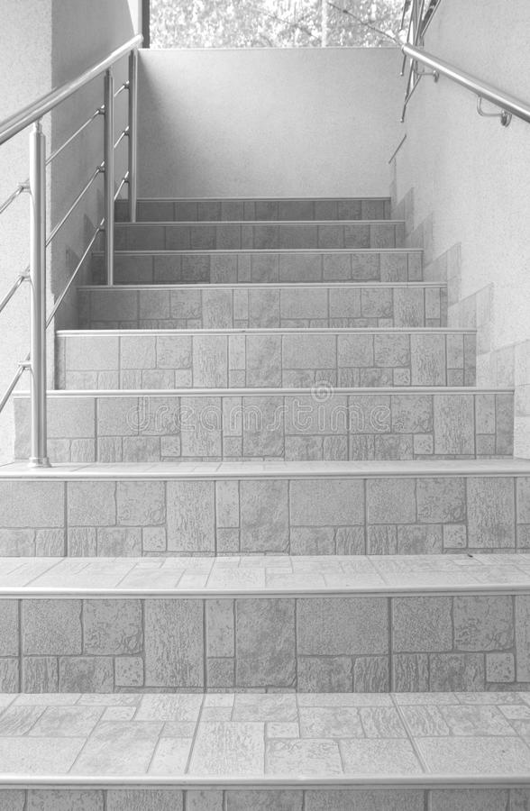Stairs of home or office interior royalty free stock photo