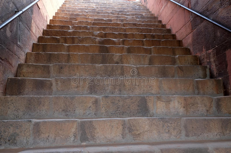 Stairs in Humayuns Tomb, Delhi stock photos