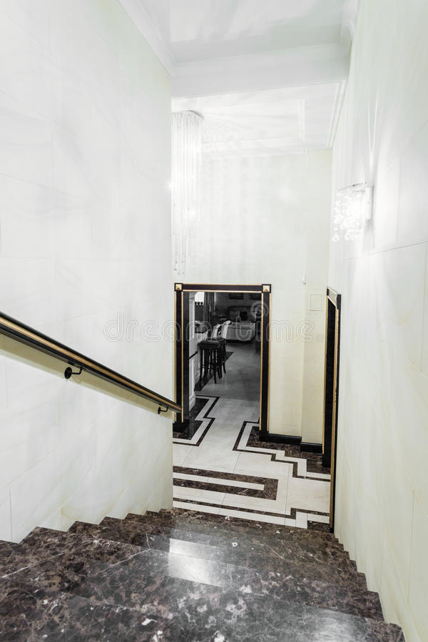 Download Stairs Inside Baroque House Stock Image   Image: 56340823