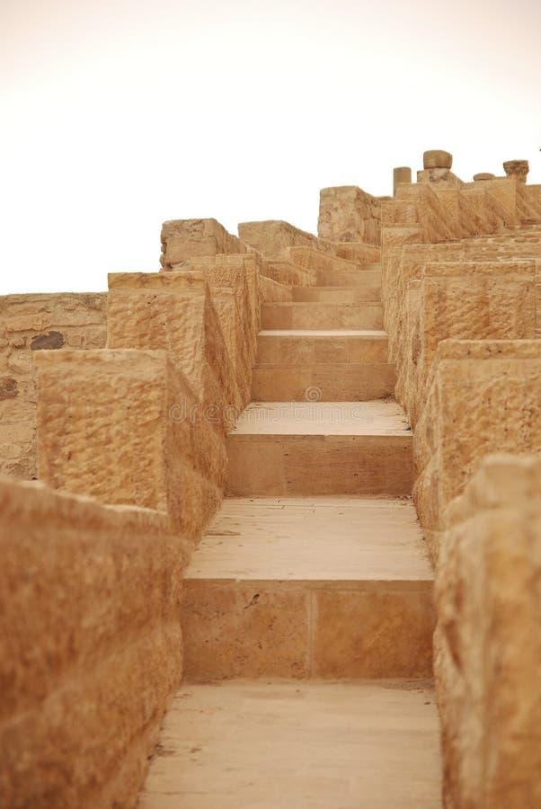 Download Stairs in Kerak Castle stock photo. Image of detail, window - 18277350