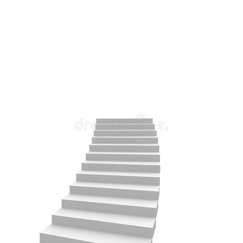 Download Stairs leading stock illustration. Image of down, construction - 22088238