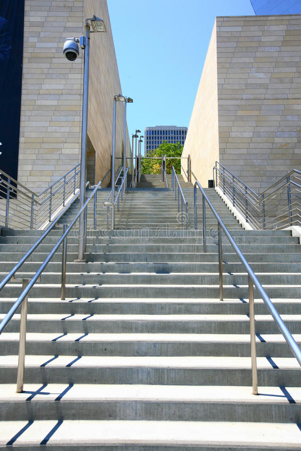 Download Stairs In Los Angeles Stock Photo. Image Of Downtown   13192910