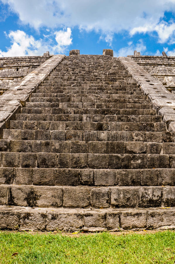Stairs in Mexico royalty free stock images