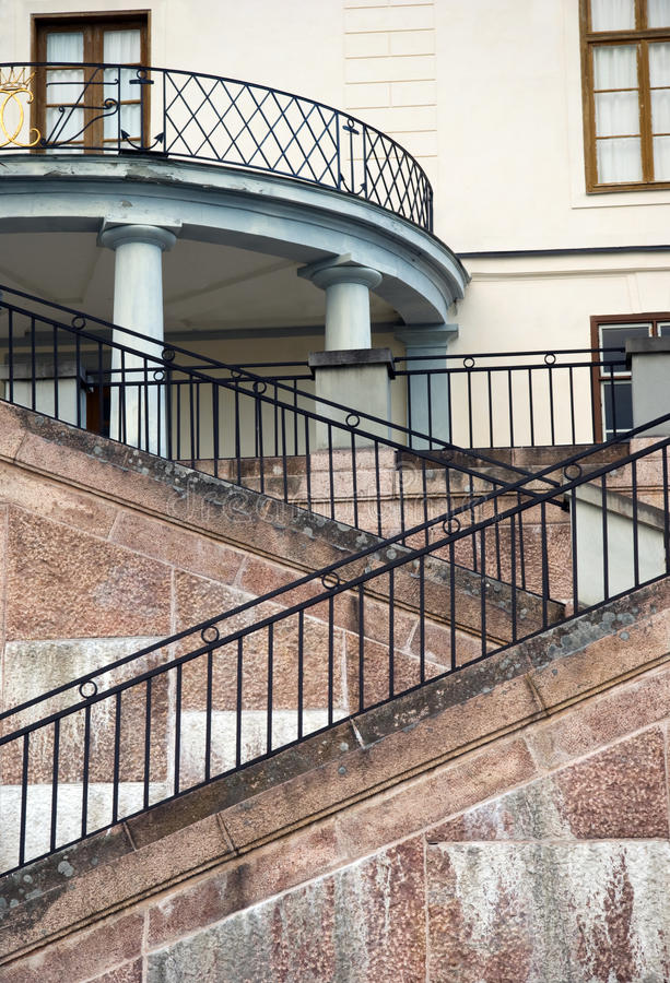 Download Stairs of a palace stock image. Image of architecture - 12653905