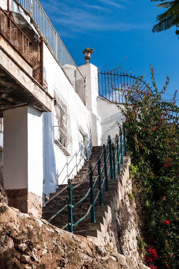 Stairs in Palma de Majorca royalty free stock photo