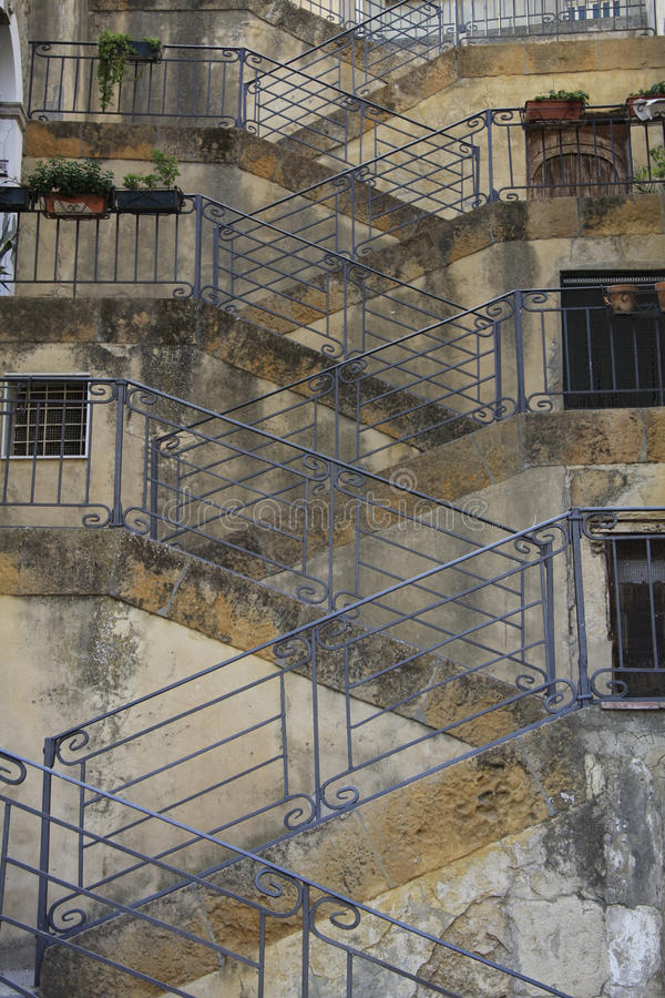 Free Stairs Pattern In Sicily Stock Photography - 16874502