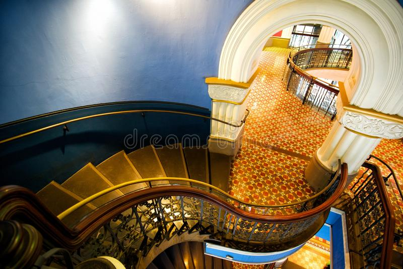 Stairs in QVB royalty free stock image