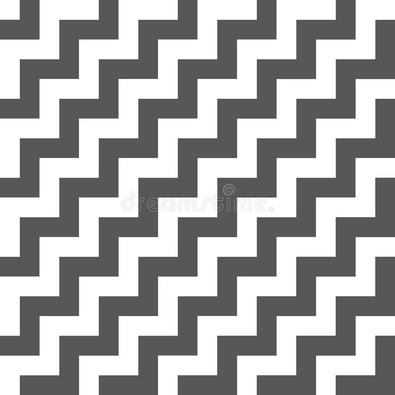 Stairs seamless pattern. Abstract background. Good design royalty free illustration