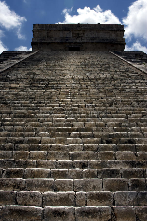Download The stairs of temple stock photo. Image of pyramid, blue - 28114268