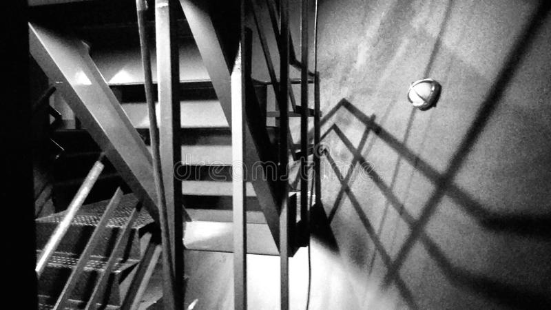 Stairs in the theatre stock photography