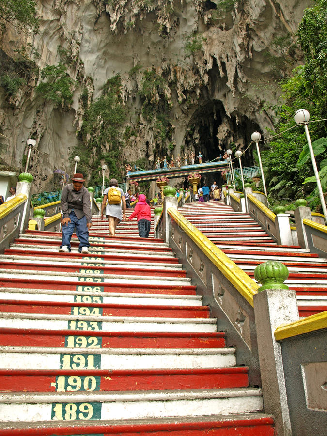 Download Stairs To Batu Caves Temple Editorial Photo - Image: 24037991