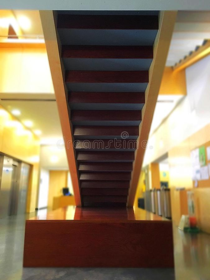 Stairs to nowhere royalty free stock photos