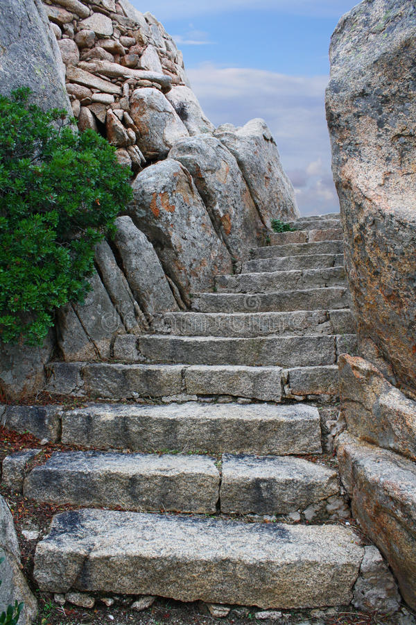 Stairs to the sky royalty free stock photos