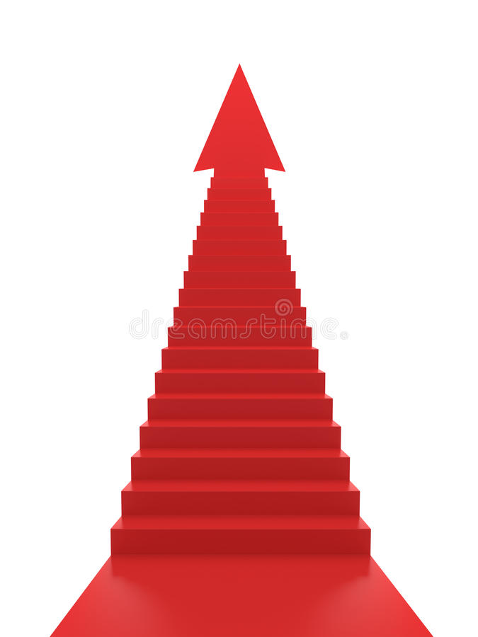 Download Stairs to Success stock illustration. Image of business - 21211591