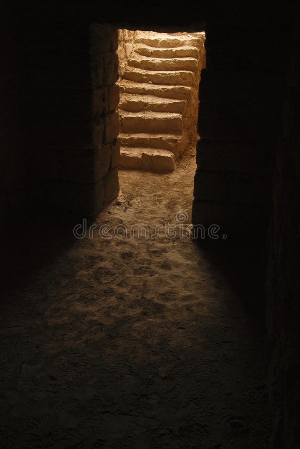 Free Stairs To The Darkness Royalty Free Stock Photography - 18277267