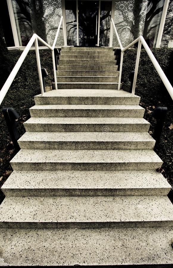 Download Stairs Up stock photo. Image of house, outdoors, exterior - 4606350