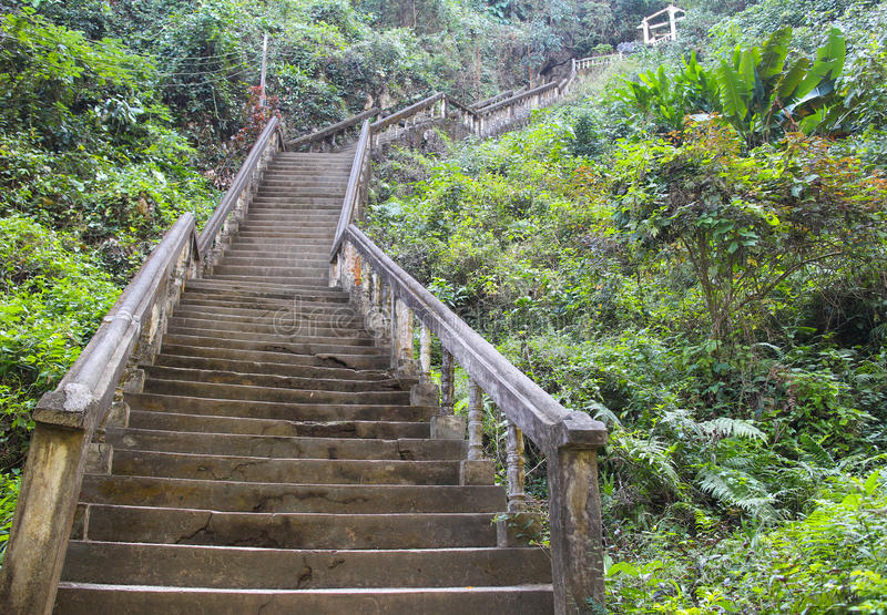 Stairs up royalty free stock photos