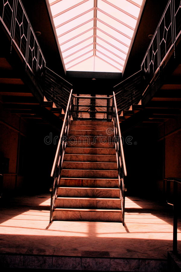 Stairway à glória foto de stock