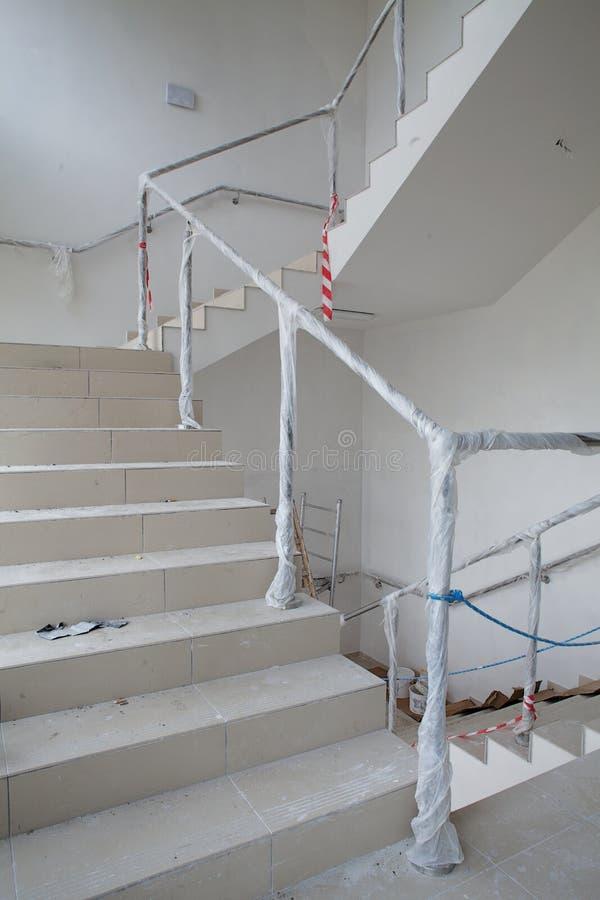 stairway реновации стоковое изображение