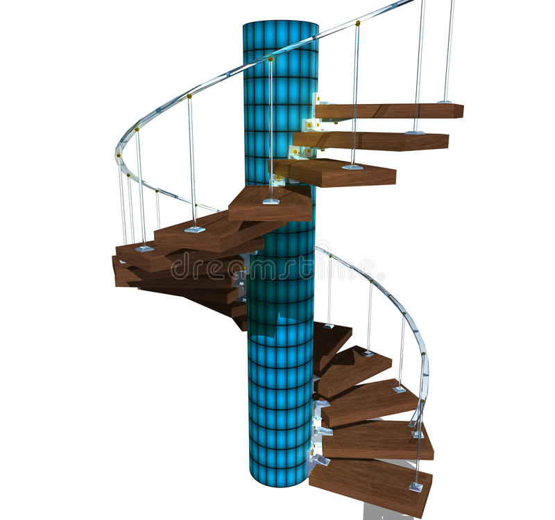 Download Stairway stock illustration. Illustration of levels, house - 12769957