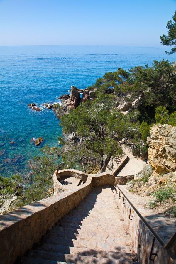Download Stairway stock image. Image of catalonia, spain, embankment - 14851671