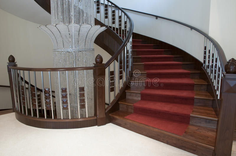 Download Stairway stock photo. Image of modern, elegance, indoor - 16559262