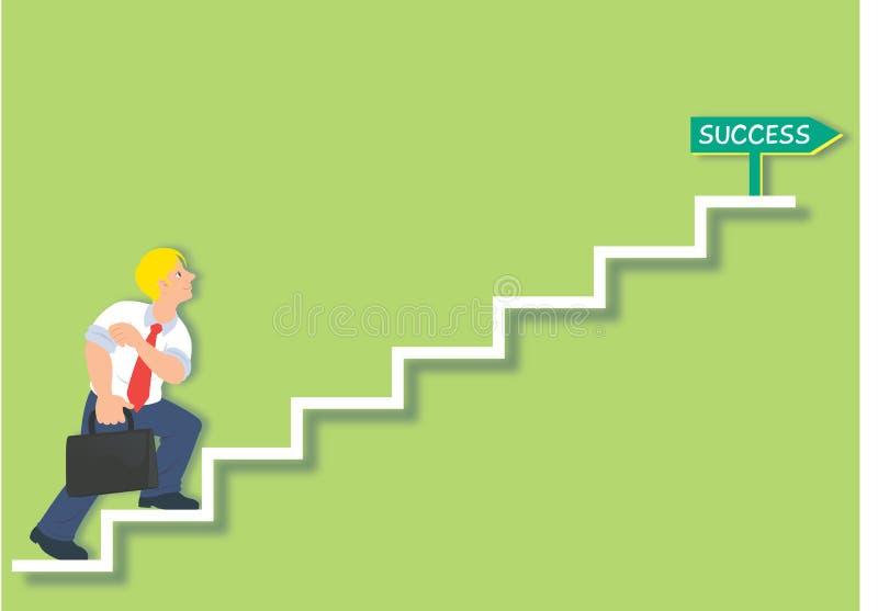 Stairway ao sucesso foto de stock royalty free