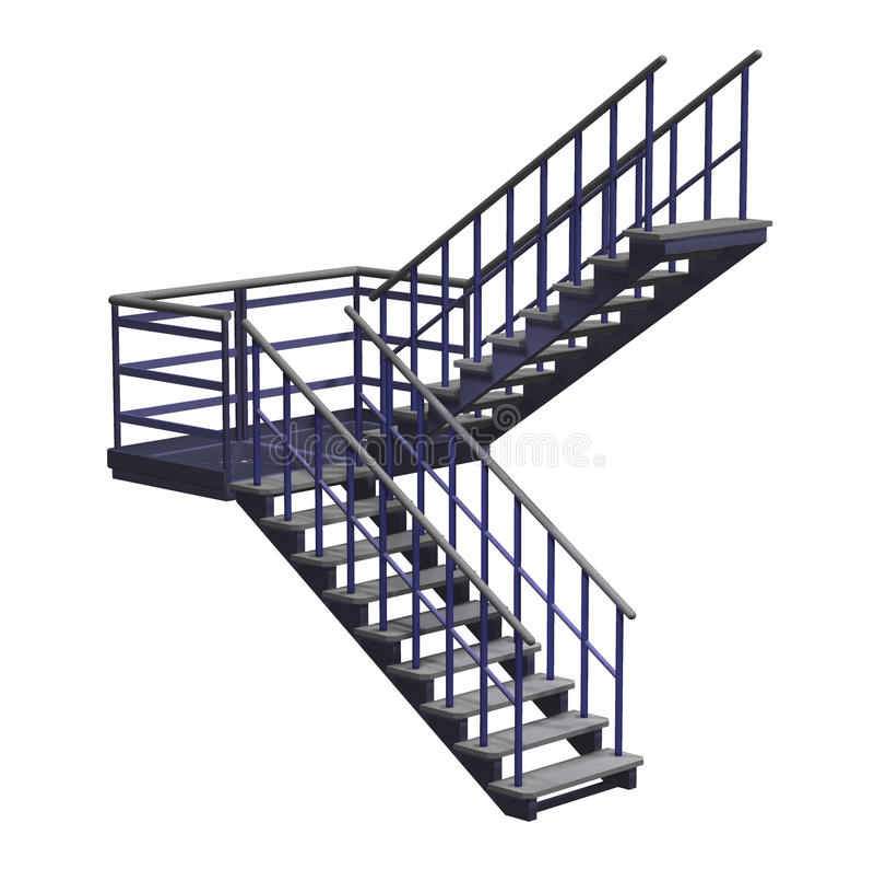 Stairway vector illustration