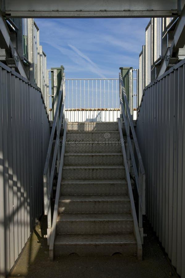 Stairway do estádio imagens de stock royalty free
