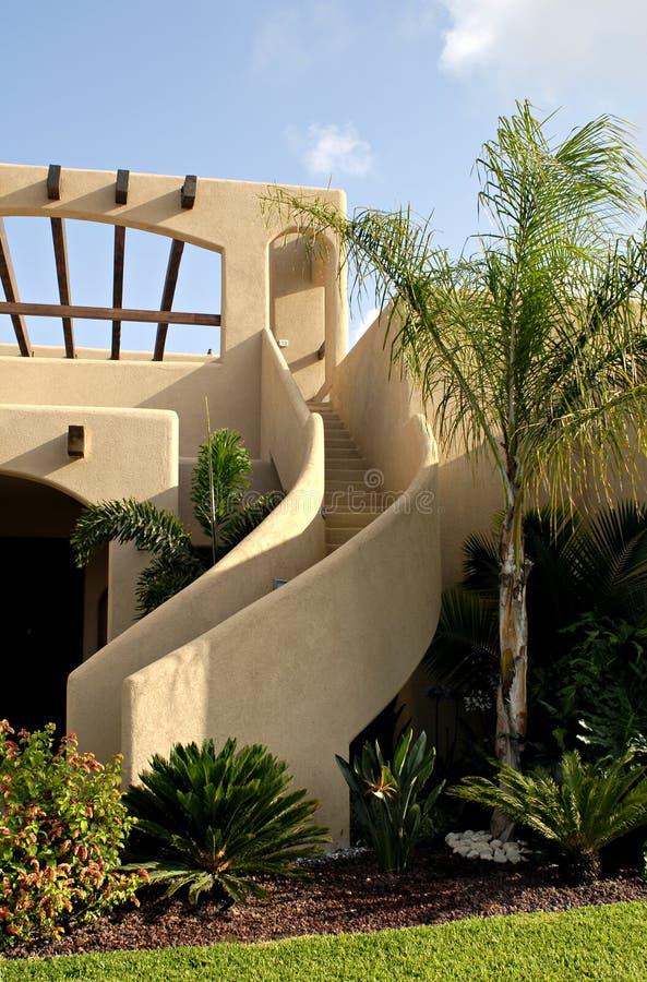 Stairway do estuque foto de stock royalty free