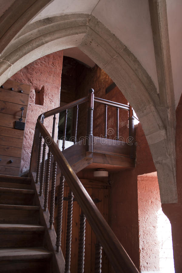 Free Stairway In Castle Royalty Free Stock Images - 22622439