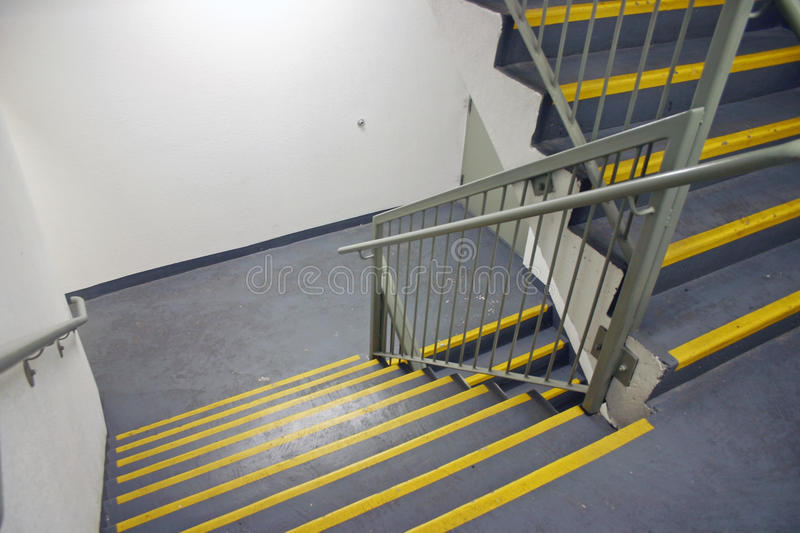 Stairway In Modern Building Royalty Free Stock Images