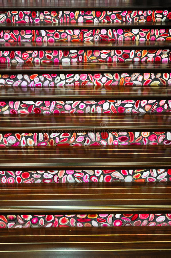 Stairway moderno imagem de stock royalty free