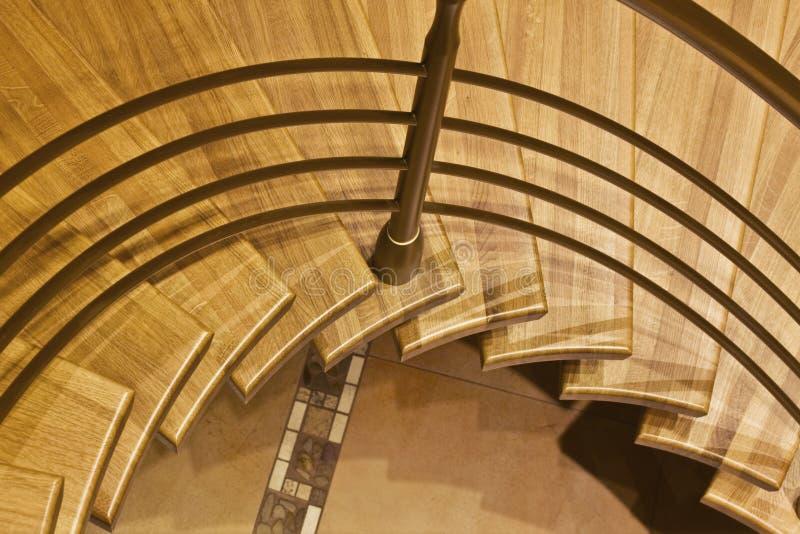 Stairway na HOME luxuosa imagem de stock