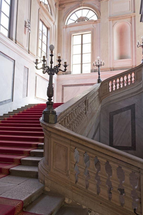 Stairway nobre foto de stock