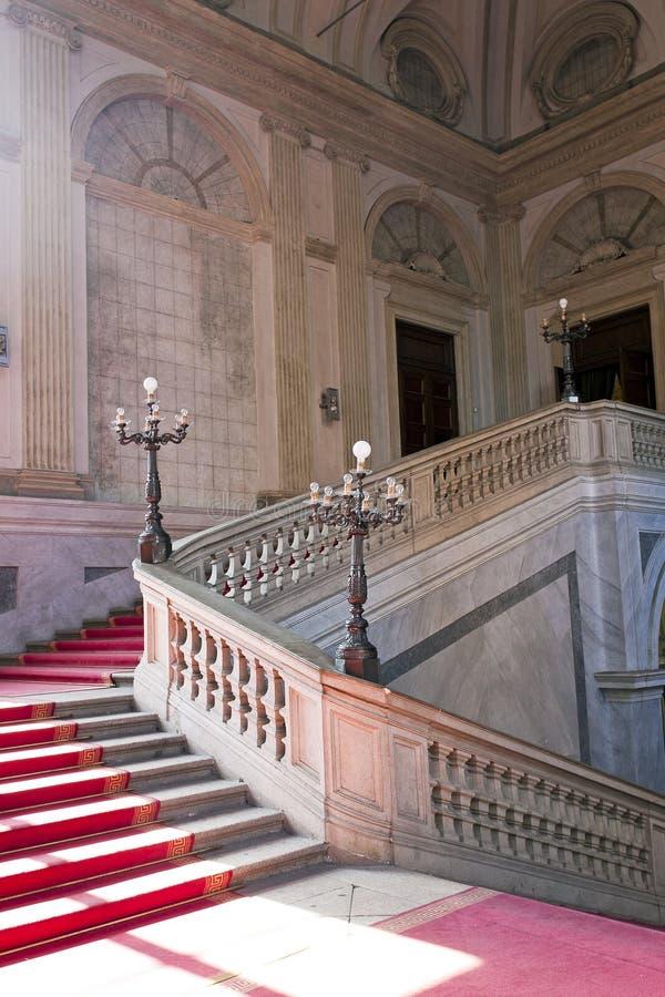 Stairway nobre imagem de stock royalty free