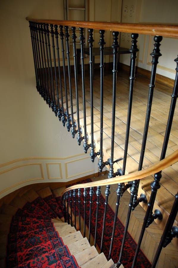 stairway paris дома стоковое изображение
