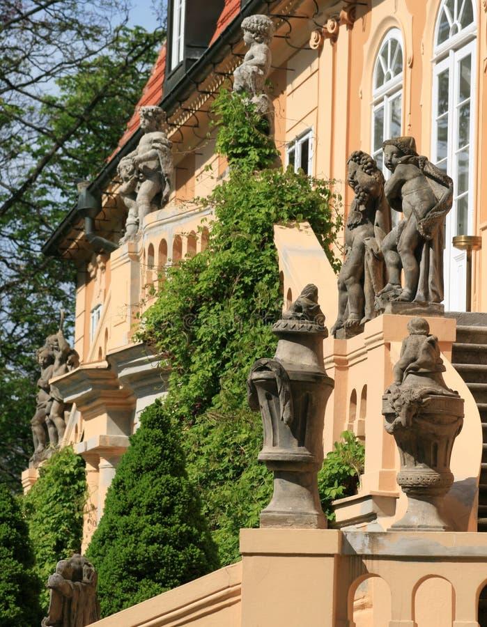 stairway statuary стоковые фотографии rf