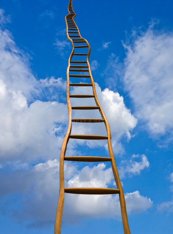 Free Stairway To .... Stock Photo - 3893390