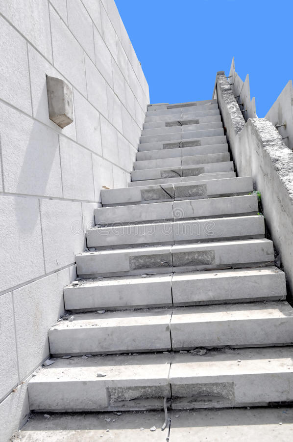 Download Stairway to blue sky stock photo. Image of lamp, staircase - 18533066