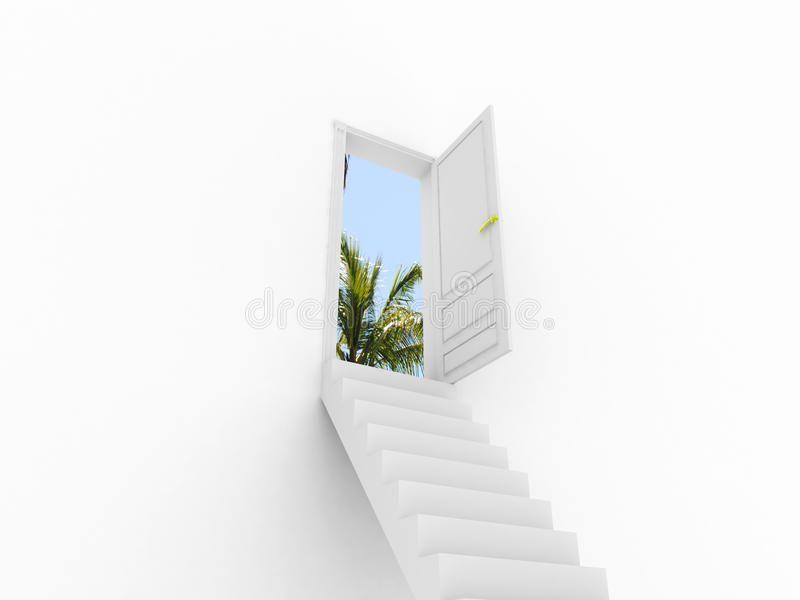 Download Stairway to the Dream. stock illustration. Image of dream - 19048788