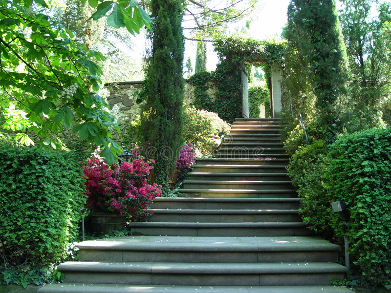 stairway to heaven stock image