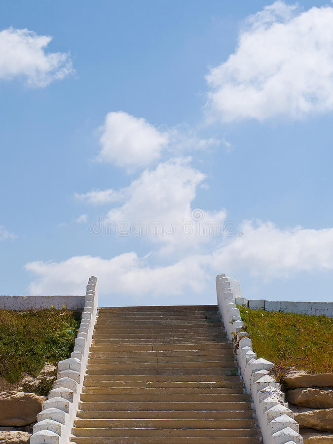 Stairway to heaven . stock photography