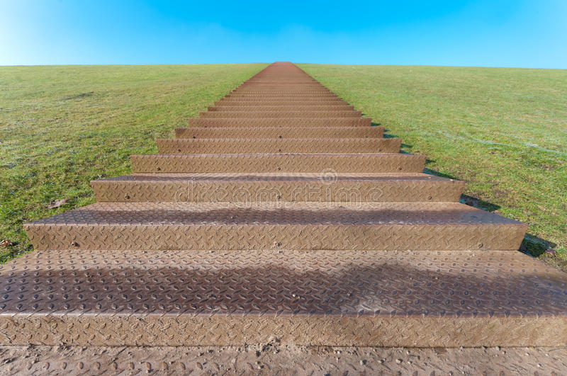 Download Stairway to heaven stock photo. Image of paradise, green - 18299298
